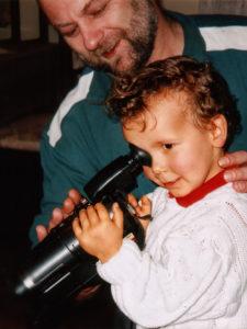 1997 - Baby mit Kamera